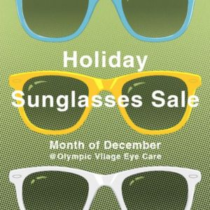 Sunglasses Sale and December Hours